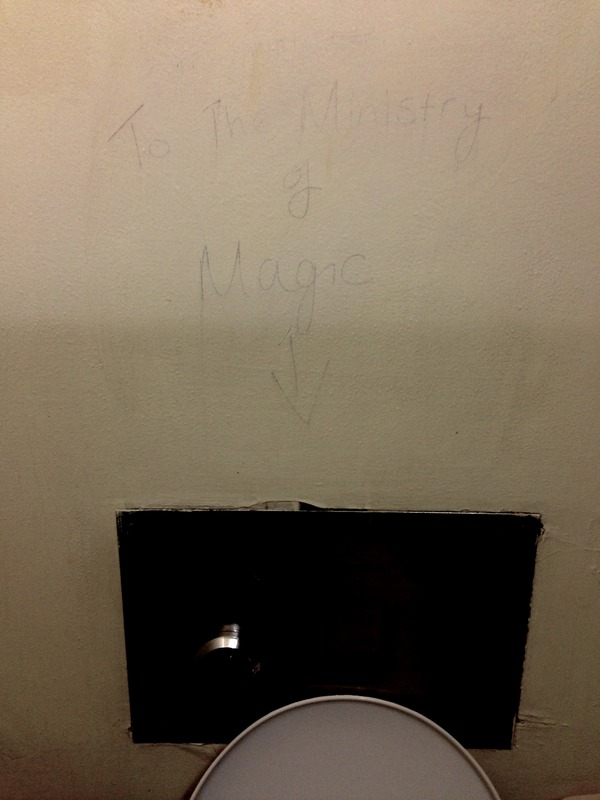 To the Ministry of Magic